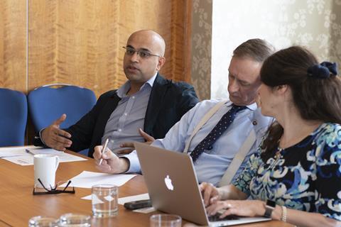 Masood Ahmed, Andrew Ritchie QC, Joanna Goodman